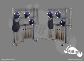 Equipment Rack by CLUBF00T