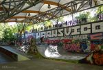 Ramps and cover on Bercy Skate Park by EUtouring