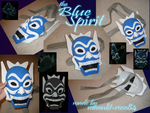 ATLA: Blue Spirit Mask by moonlit-rose84