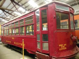 Pacific Electric Birney Car 331 by rlkitterman
