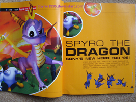 Playstation Magazine 34 Spyro the Dragon p42-43 by Spyro-1995