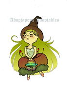 Earth Witchling - OPEN by Adoptapops