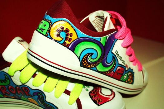.monster shoes-close up III. by MyInterminableZent