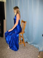 Elegant Blue Dress 18 by Danika-Stock