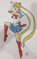 The one named sailor moon by PolyMune