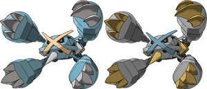 Mega Metagross by KrocF4