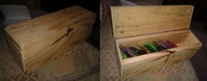 Rough 'n' Ready Tea Chest by kizgoth