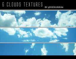 Clouds Textures by isdelirium