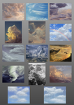 A Compilation of Clouds by the-b3ing