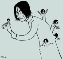 Snape is Asexual and He Buds by divine-miss-m