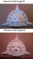 Edward Kenway Belt Buckle Sculpt #1 and #2 by CosTitan-Productions