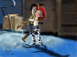 Woody and Jessie by HayNateHaywood