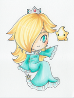 Copic Chibi Rosalina by sleepypandie