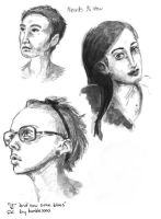 Sketchbook: heads in 3-4 view by sketch-poop