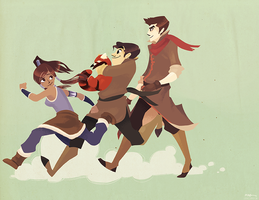 Legend of Korra by chronosylum