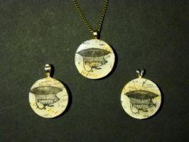 Airship Pendants by KatarinaNavane