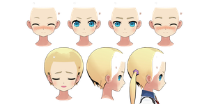 MMD - Frederica Irving Male Face Edit by Cinnabooty