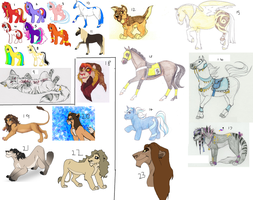 Adopts - All must go! by AnnieHyena