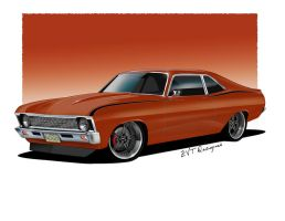 "1970 Nova""NoGo"" v2 by zvtdesigns"