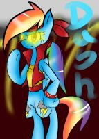 Mighty Rainbow Dash by voidless-rogue