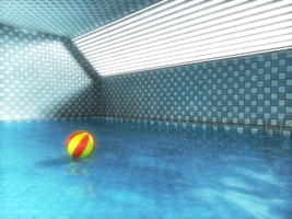 Indoor swimming pool by 0111100001000100