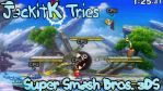 JackitK Tries Smash Bros 3DS Title Card by JackitK