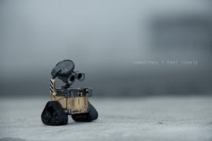 Some times I feel so lonely by kepeifeng