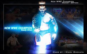 New WWE Championship Randy Orton Wallpaper ! by mikelshehata