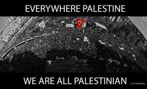 EVERYWHERE PALESTINE by olumdenyoksun
