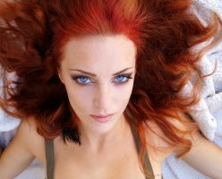 Red hair by Wulfsdottir