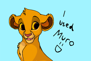 I used Muro :D by Kitchiki