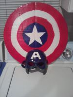 Home Made Captain America Shield by Noobsaucess