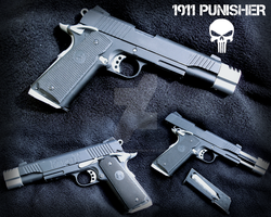 Colt 1911 Punisher Co2 by OniPunisher