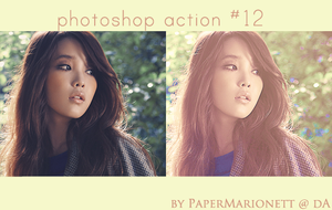 photoshop action 12 by PaperMarionett