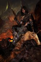 Demon Hunter by CKImagery