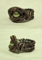 Wire Wrapped Ring by ACrowsCollection