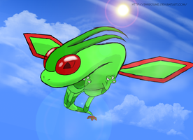 Flygon by Shiroune