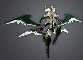 Commission: Final Fantasy Garuda by retinence