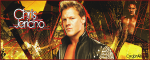 Chris Jericho Banner, The End of the World by Cyrdanwwe