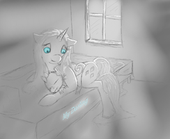 Cuddling Somewhere - Day 2 by Sauny