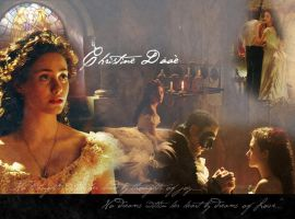 Christine Daae Wallpaper by Truro