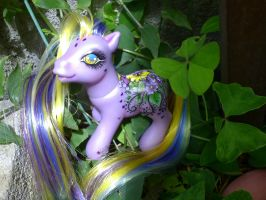My little pony custom Julia by AmbarJulieta