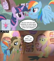 Dr. Whooves Library Comic - 1 by Simon-Conduit