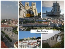 Postcard - Lisboa, Portugal by jpgmn