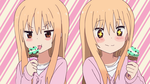 Umaru Chan Mad to Happy ice cream [vector] by iammrx