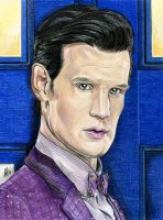 11th Doctor by Karenscarlet
