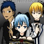 Imitation Black Kuroko No Basket Crossover by 96mayu