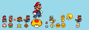 SMB3 NSMB2 Power Ups by Geoshithered