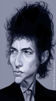 Bob Dylan Painting by markdraws