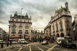 Piccadilly circus by Lad2-0